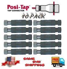 RED//BLACK WireTap MINI EX-135R,#642 Posi-Tap PTA-1800M NEW 18 Awg,10 pack