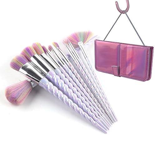 ammiy unicorn makeup brushes set fantasy makeup tools