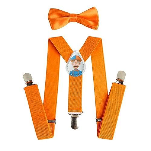 Alizeal Boys Solid Color Pre-tied 2.4 Zipper Skinny Necktie Pink