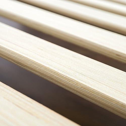 Buy Zinus Alexis 12 Inch Deluxe Wood Platform Bed No Box