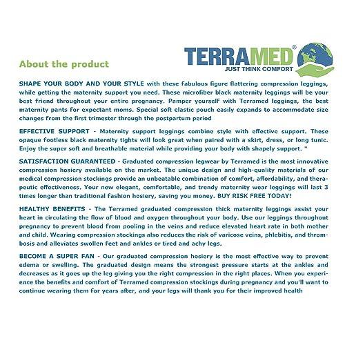 c011f9b436721 Buy Terramed Advanced Graduated Compression Leggings Women - 20-30 ...