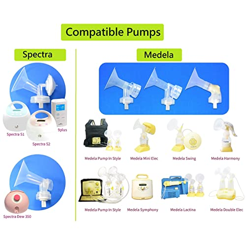 Babyvoeding Nenesupply 5 Count Compatible Duckbill Valves for Medela and Spectra S1 S2...