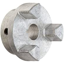 1.75 Length Through Bore Lovejoy 70032 Size SS150 Jaw Coupling Hub 1.375 Bore Stainless Steel Inch 0.313 x 0.156 Keyway 3.75 OD