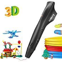 3D Pen Include 8 Patterns Paper Model,DOTSOG 3D Printing Pen with LCD Screen Display for 3D Drawing Modeling Arts Crafts Doodle with 3 Color 1.75mm Filament