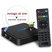 301b2c4563a Android TV Box,2019 Updated Smallest Android Box Amlogic Quad Core 64 Bits  2GB RAM