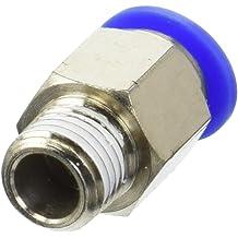 1//4 NPT 1//4 NPT Pack of 10 Pack of 10 MettleAir MSC 3//8-N02 Push to Connect Meter Out Male Speed Control Fitting 3//8 OD 3//8 OD MSC 3//8-N02-10PK