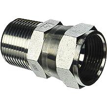 1-1//16-12 SAE x 1-5//16-12 SAE Thread Brennan Industries 6500-12-16-FG Forged Steel 90 Degree Elbow Tube Fitting 3//4 Male JIC x 3//4 Female JIC Swivel 1-1//16-12 SAE x 1-5//16-12 SAE Thread 3//4 Male JIC x 3//4 Female JIC Swivel Inc.