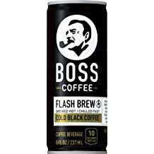 81fdfc4a815 BOSS COFFEE by Suntory - Japanese Coffee Drink - Imported Coffee - Flash  Brewed - Gluten Free