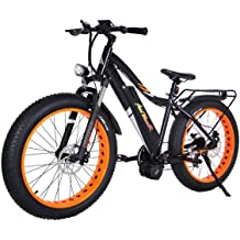 92ab4ce2fda Addmotor MOTAN 26 Inch Electric Bicycles 1000W Bafang BBSHD Mid Drive  Brushless Motor Ebike 30MPH 17.5AH Lithium Battery Fat Tire Mountain Snow .