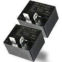 1pc Zettler 48vdc SPST AZ2100 30A Power Relay AZ2100-1A-48DE Quick Connect Tabs