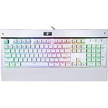 460486ad393 HUO JI E-Element Z-77 RGB Mechanical Gaming Keyboard, Programmable RGB  Backlit