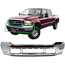 Steel Pair of Left /& Right Rear Bumper End Caps for 2009-2014 Ford F-150 Pickup w//Park Assist 09-14 Chrome BUMPERS THAT DELIVER FO1102372