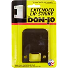 Don-Jo EL 115 18 Gauge Extended Lip Strike Satin Stainless Steel Finish Pack of 10 1-1//2 Width x 2-1//4 Height