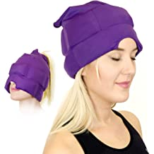 d04009eb Headache and Migraine Relief Cap - A Headache Ice Mask or Hat used for  Migraines .