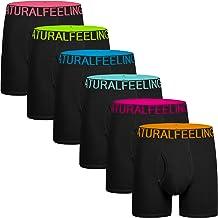 935a983c66ae 5Mayi Men's Underwear Boxer Briefs Cotton Black Mens Boxer Briefs  Underwear Men