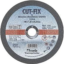 7//8 Hub 7//8 Hub 4-1//2 Diameter x 0.045 Thickness Falcon Abrasive 7C11 4-1//2 Diameter x 0.045 Thickness Pack of 5 Aluminum Oxide Falcon A60UB-96 Reinforced Extra Performance Abrasive Cut-off Wheel 60 Grit